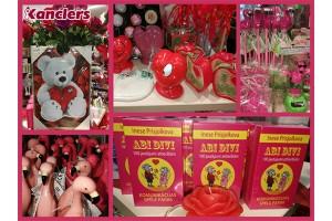 Rožaini sārtā Valentīna diena