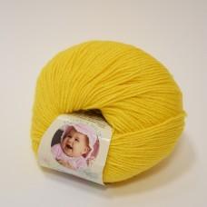 Alize Baby Wool dzija - koši dzeltena (50 g, 175 m)
