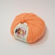 Alize Baby Wool dzija - gaiši oranža (50 g, 175 m)