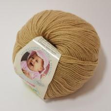Alize Baby Wool dzija - gaiši brūna (50 g, 175 m)