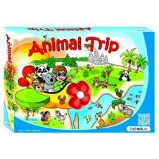 """Attīstošā spēle """"Dzīvnieki ceļo"""""""