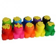 Colorino Pirkstiņkrāsas, 10 krāsas