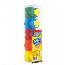 Colorino Pirkstiņkrāsas, 5 krāsas