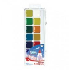 Akvareļkrāsas Gamma Chudo-kraski (14 krāsas)