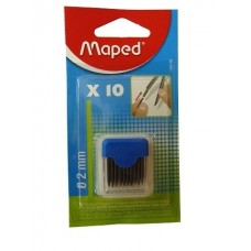 """Maped"" cirkuļu grafītu komplekts, 2mm (10gb.)"