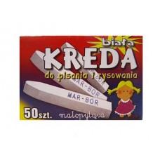 """Balti krītiņi """"KREDA"""", 50 gb."""