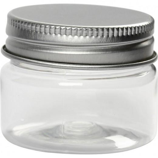 Plastmasas pudelīte ar korķi (35 ml)