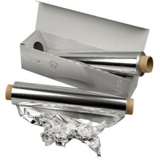 Alumīnija folija (150 m, 30 cm) - Citas hobijlietas