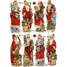 """Dekoratīvie motīvi """"Ziemassvētki"""" (3 loksnes)"""