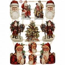 """Dekoratīvie motīvi """"Ziemassvētki 2"""" (3 loksnes)"""