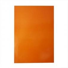 Glancēta papīra komplekts - oranžs (80 g, 25 gb.)