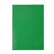 Glancēta papīra komplekts - zaļš (80 g, 25 gb.)