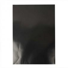 Glancēta papīra komplekts - melns (80 g, 25 gb.)
