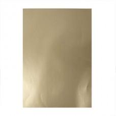 Glancēta papīra komplekts - zelta (80 g, 25 gb.)