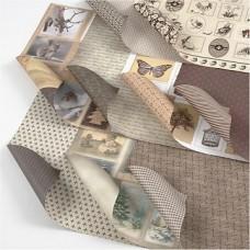 Dizaina papīrs (30,5 x 30,5 cm, 120 g, 45 gb.)