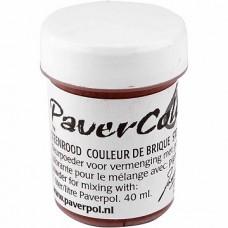 """""""Paverpol"""" pigmenta pulveris/krāsa - terakota (40 ml)"""
