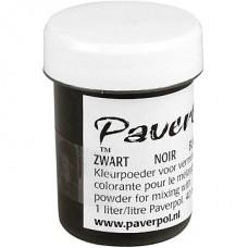 """""""Paverpol"""" pigmenta pulveris/krāsa - melns (40 ml)"""