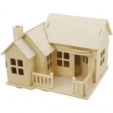 "3D koka modelis ""Māja"" II"