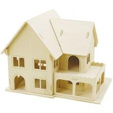"""3D koka modelis """"Māja"""" III"""