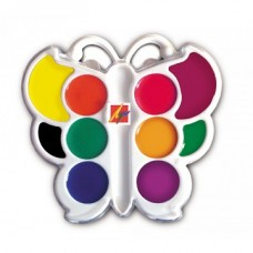 """Akvareļkrāsas """"Luč"""" - taurenītis (10 krāsas)"""