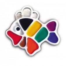 """Akvareļkrāsas """"Luč"""" - zivtiņa (9 krāsas)"""