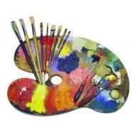 Mākslai, gleznošanai un zīmēšanai
