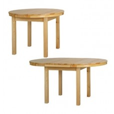 Izvelkamais galds (D 103 cm/D 150 cm)