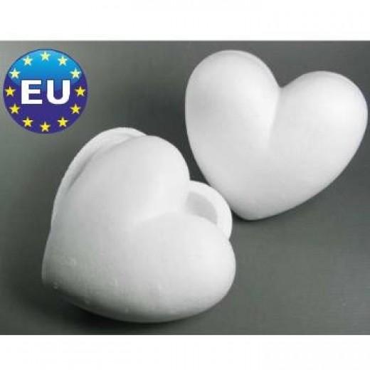 Polistirola sirdis (H 15 cm, 3 gb.) - Polistirola izstrādājumi