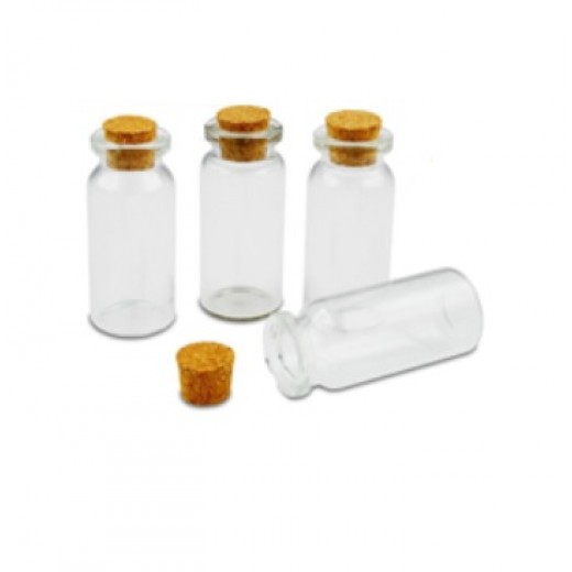 Maza stikla pudelīte (10 ml) - Citas hobijlietas