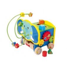 """Rotaļlieta """"Aktīvais zilonītis"""""""