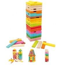Koka rotaļu bloki