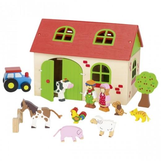 """Koka māja """"Mana ferma"""" (13 gb)"""