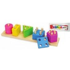 """Rotaļlieta """"Krāsas un formas"""" 2"""