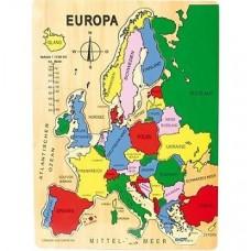 """Puzle """"Eiropas karte"""""""