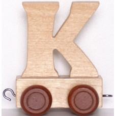 """Alfabēta vilcieniņa """"K"""""""