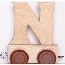 """Alfabēta vilcieniņa """"N"""""""