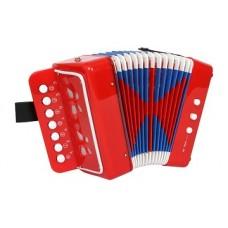 Akordeons - sarkans