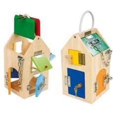 """Rotaļlieta """"Slēdzeņu māja"""""""