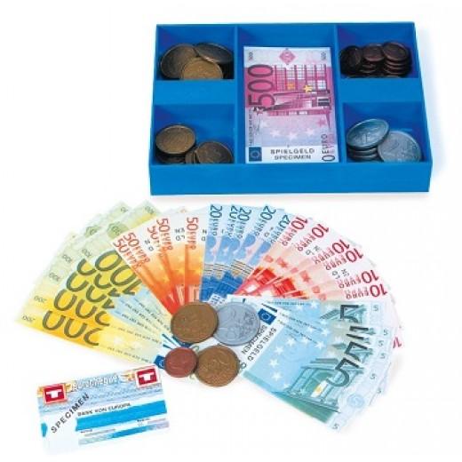 """Naudas komplekts """"Euro"""" - Skaitīkļi, skaitīšanas materiāls, klasifikācija"""