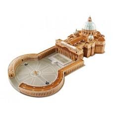 """3D puzle """"Svētā Pētera katedrāle"""""""