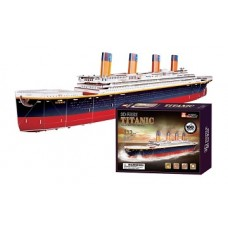 "3D kuģa modelis - puzle ""Titāniks"""