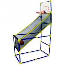 Basketbola grozs ar drošības tīklu