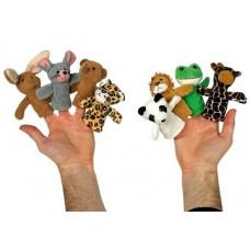 """Pirkstu lellīte """"Dzīvnieki"""" (1 gb.)"""