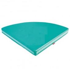 Matracis - zaļš 100x100x10cm