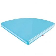 Matracis - gaiši zils 100x100x10cm