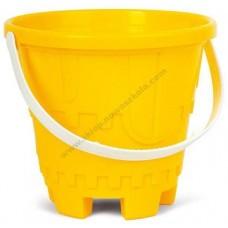 Dzeltens spainītis - smilšu pils (L 17 cm)