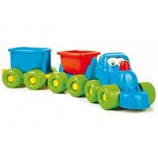 """Rotaļlieta """"Smieklīgais vilcieniņš"""" (L 50 cm)"""