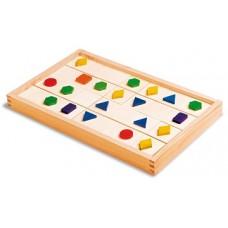 Ģeometriskais domino (28 gb.)