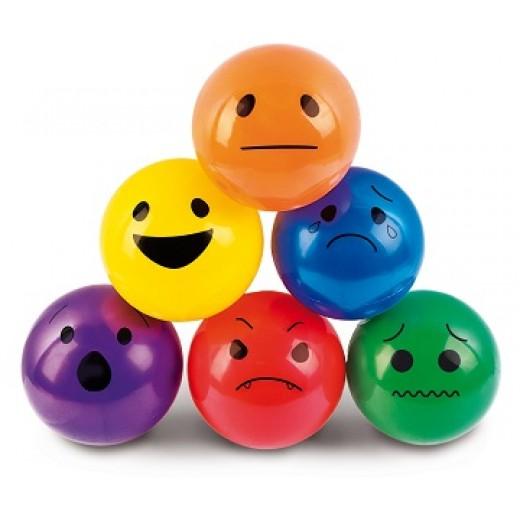"""Spēļu bumbas """"Emocijas"""" (6 gb.) - Emocija, sajūta un skaņa"""