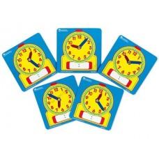 """Mācību kartiņas """"Pulkstenis"""" (5 gb.)"""